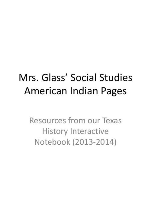 A glimpse inside of Mrs. Glass Texas History IAN!