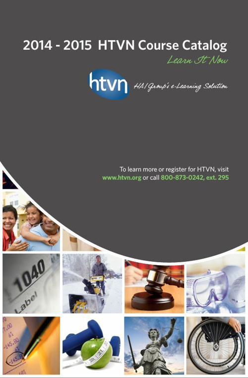 HTVN.org 2014-15 Course Catalog
