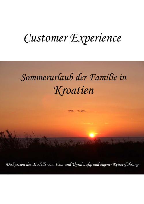 Freizeitsoziologie und -psychologie: Customer Experience
