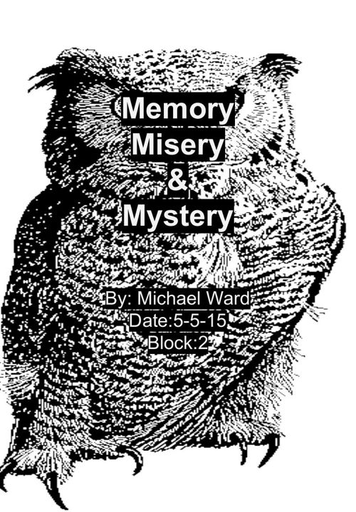 memory misery and mystery (1)