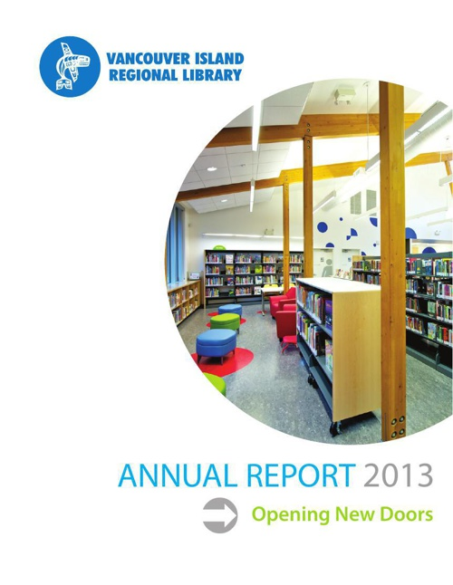 Vancouver Island Regional Library: 2013 Annual Report