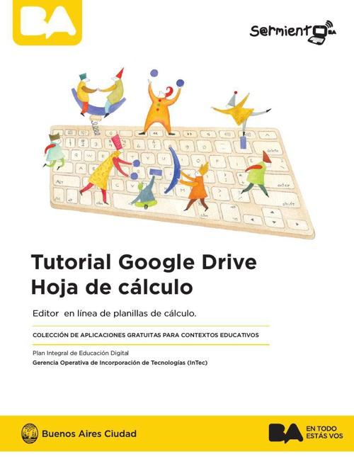 Tutorial Google Drive - Hoja de cálculo