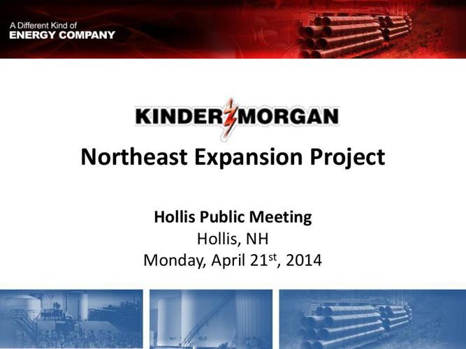 Copy of Kinder Morgan Northeast Expansion proposal