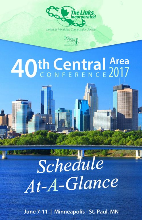 40th Central Area Conference Schedule at a Glance