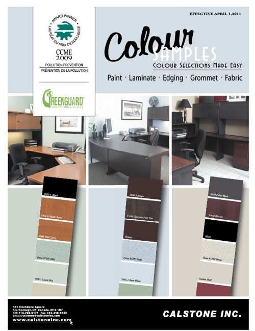 Business Furniture Colour Samples