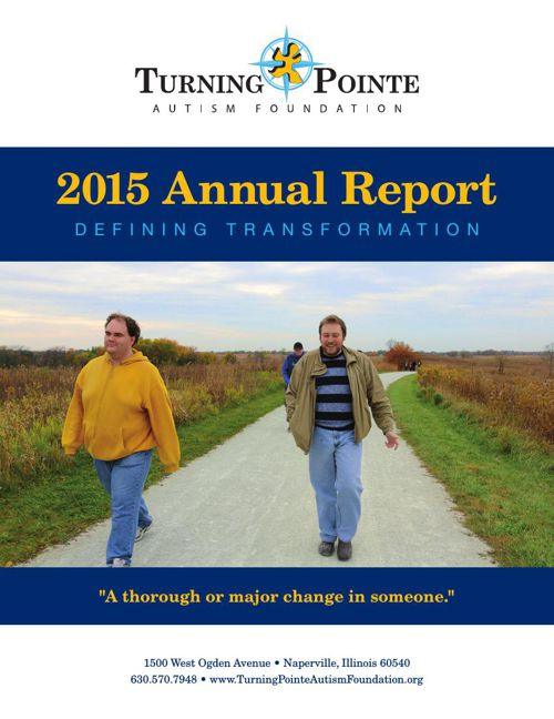 Turning Pointe 2015 Annual Report