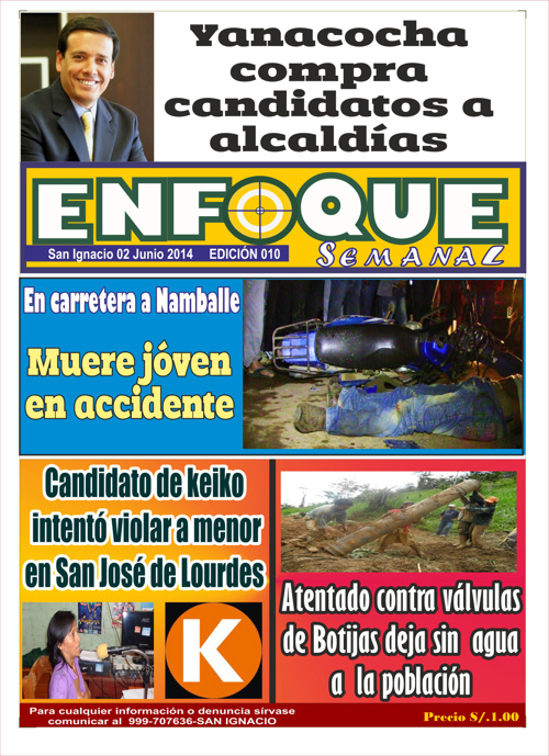 enfoque semanal edicion domingo 01 de junio 2014