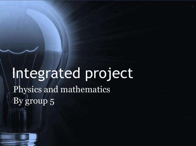 Intergrated project science