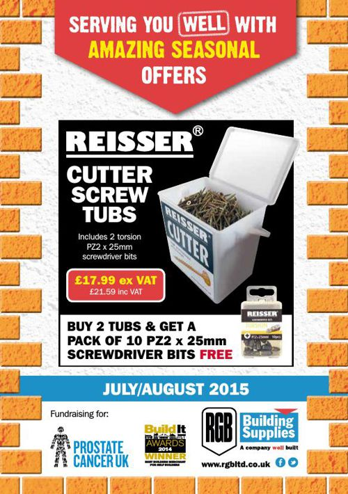 RGB Building Supplies July/August Offers!