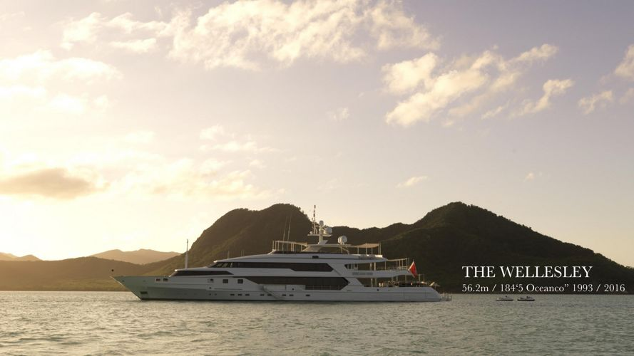 THE WELLESLEY PHOTOBOOK 2016 56m 184ft Oceanco charter yacht