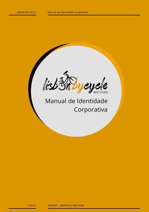 LISBONBYCYCLE - Manual de Identidade Corporativa