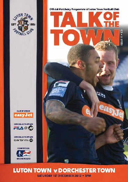 TOWN v DORCHESTER ISSUE 11