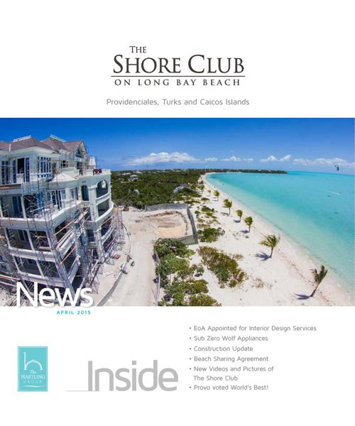 The Shore Club Newsletter | April 2015