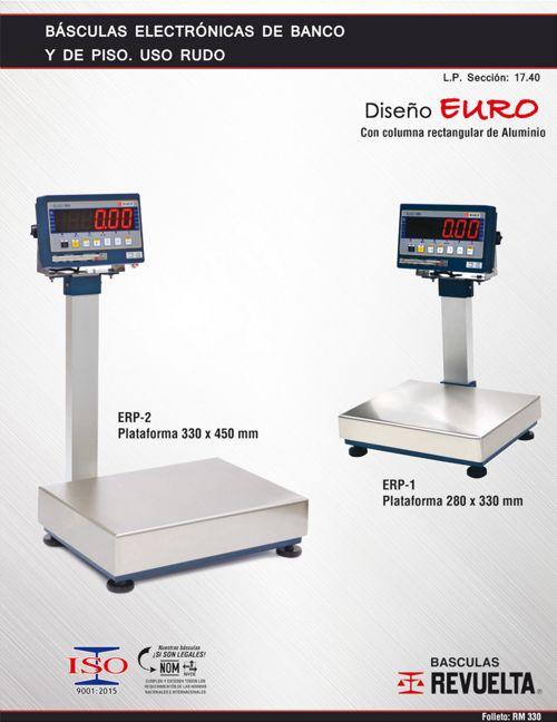 RM 330 BÁSCULAS ELECTRÓNICAS DE BANCO Y PISO EURO