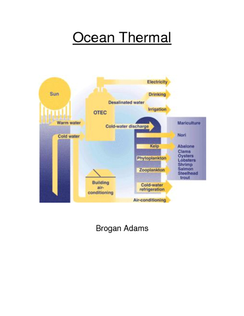 Ocean Thermal Energy Infobook