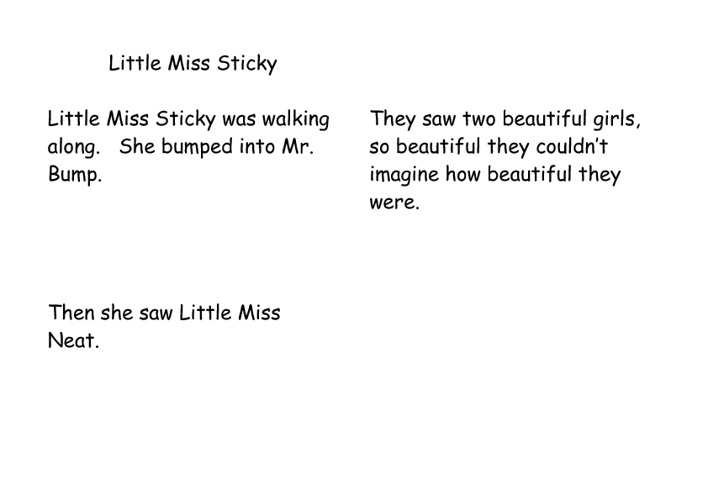Little Miss Sticky