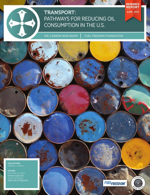 Taking America's Foot off the Gas: Pathways to Reducing Oil Cons