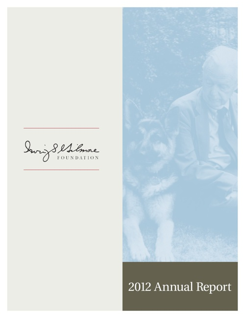 Irving S Gilmore Foundation - 2012 Annual Report