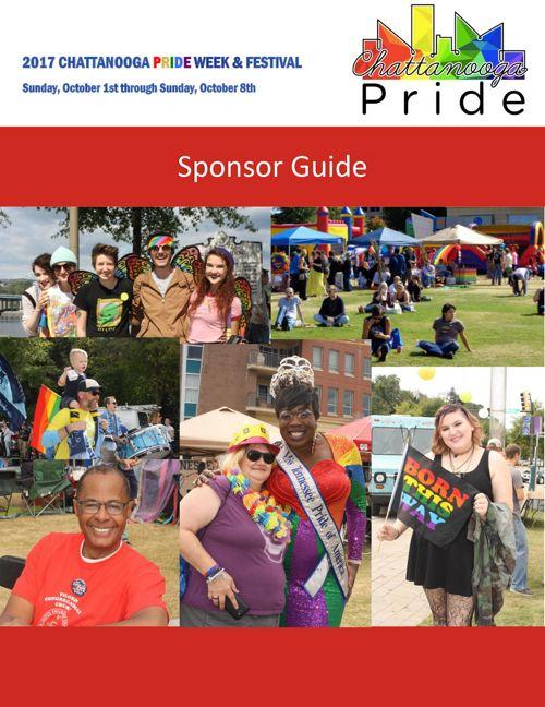 2017 Chattanooga Pride Sponsor Guide