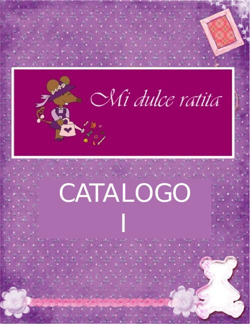 CATALOGO MI DULCE RATITA