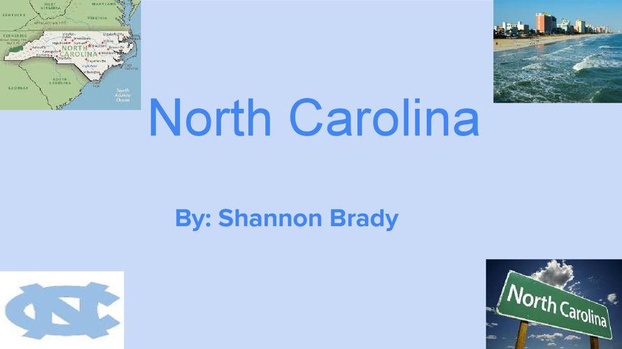 Copy of  North Carolina