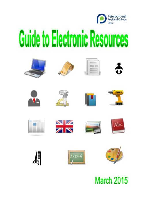 Guide to Electronic Resources