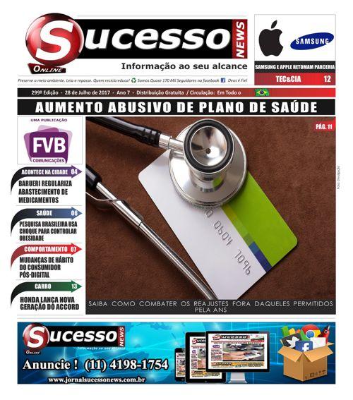 Jornal Sucesso News - Edição - 299 ONLINE