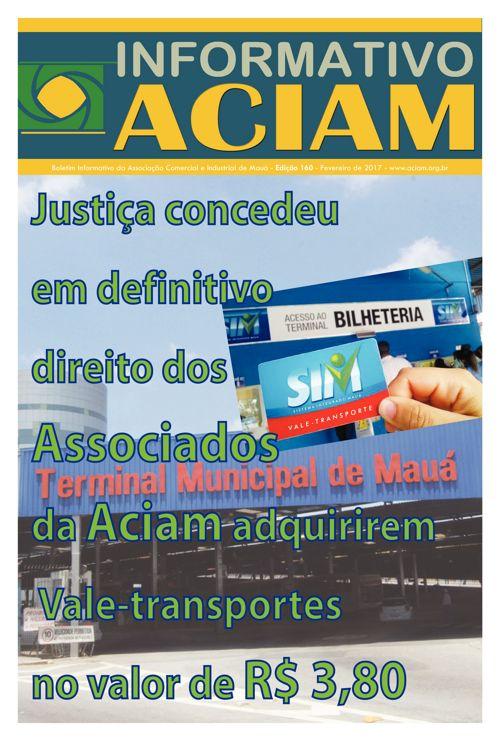 Informativo Aciam, edição 160