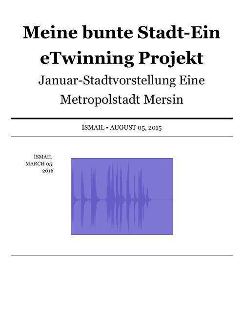 Padlet - Meine bunte StadtEin eTwinning Projekt