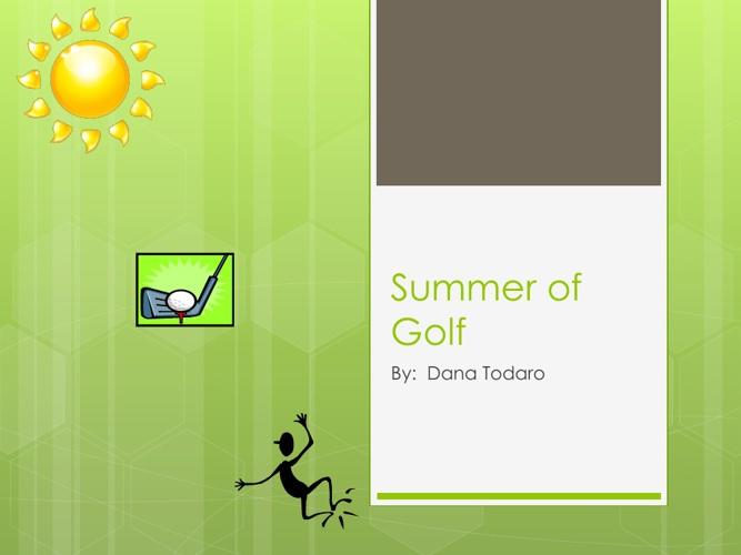 Golfing Summer