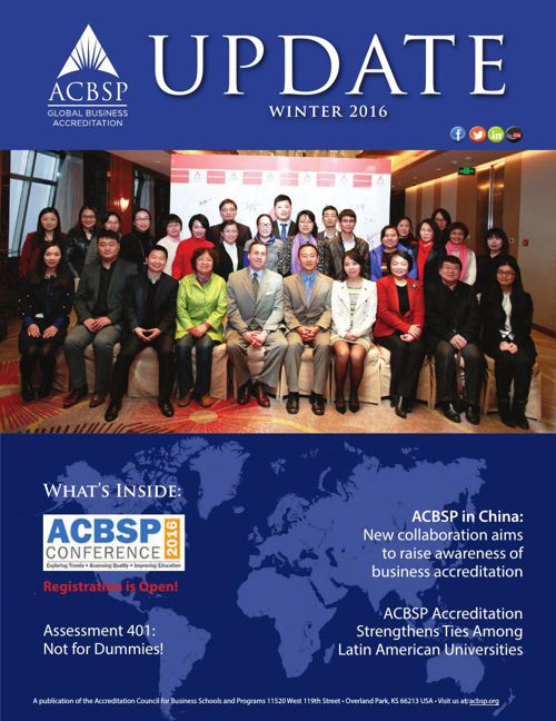 ACBSP Update - Winter 2016