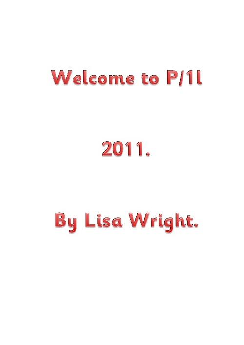 P/1l class book