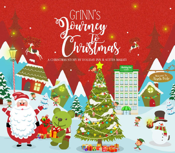 GrINN's Journey to Christmas at Holiday Inn & Suites Makati