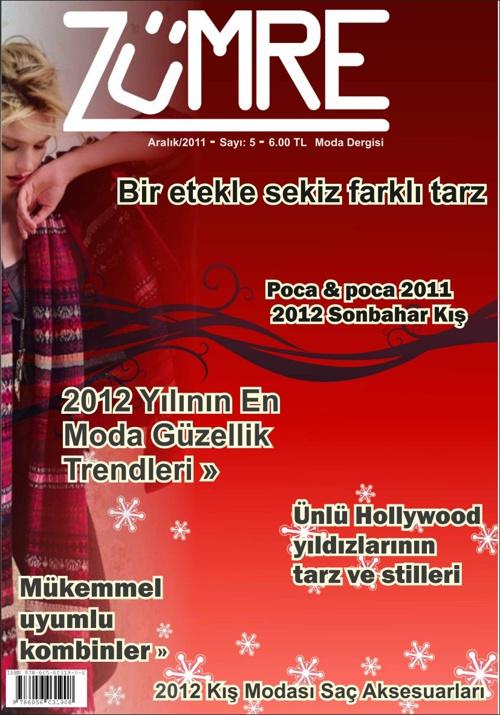 ZÜMRE  (Moda dergisi tasarımı)