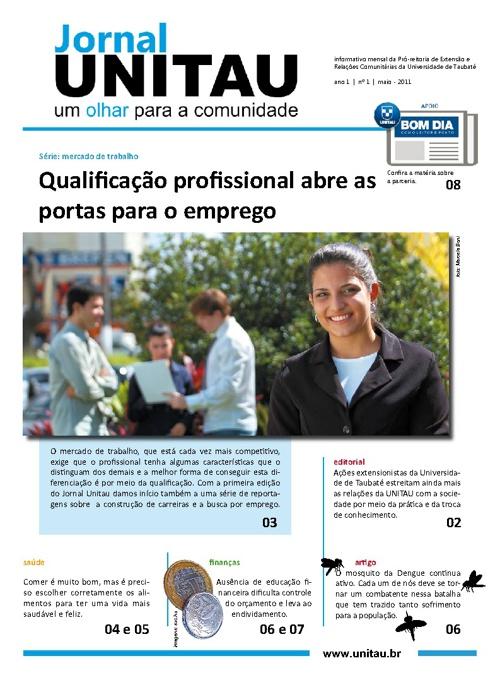 Jornal Unitau 1º Edição