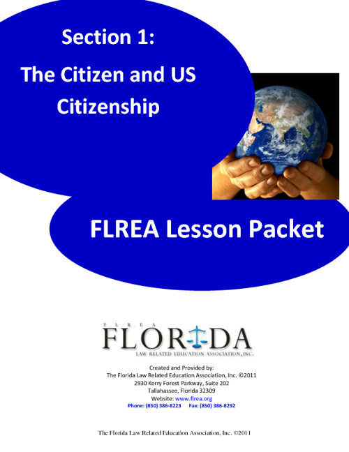 Final1 - Section 1 - The Citizen and U.S. Citizenship