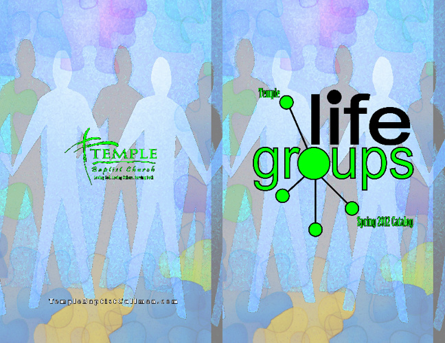2012 Spring Life Groups Catalog
