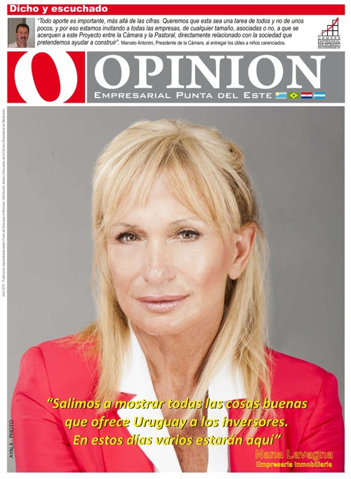 OPINION Abril 2013