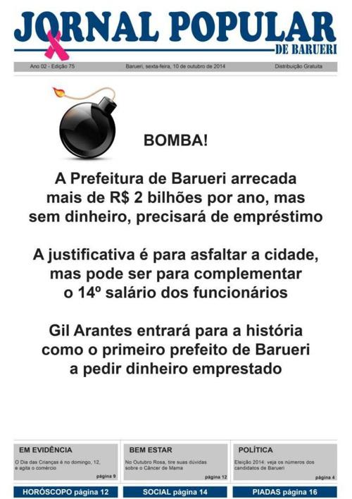 75ª edição do Jornal Popular de Barueri