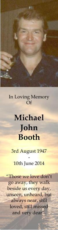 Bookmark for Michael Booth