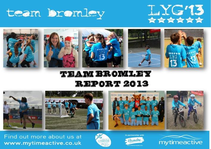 Team Bromley Report 2013