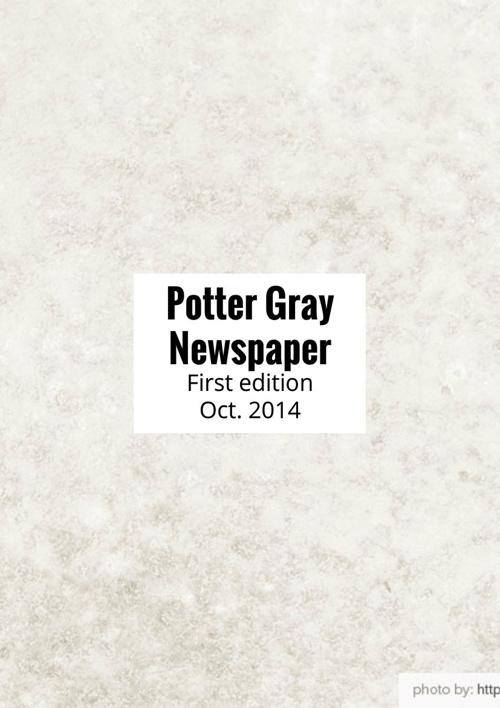 Potter Gray Newspaper Oct.2014