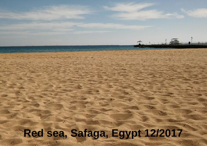 Red sea, Safaga, Egypt 12/2017