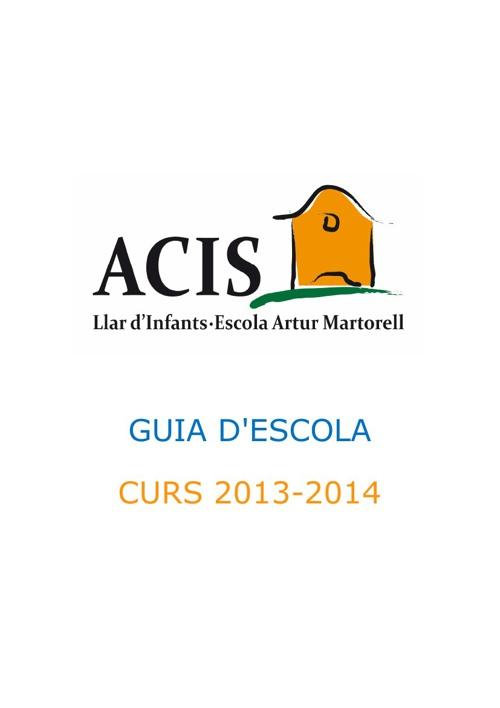 Guia d'Escola 2013-2014