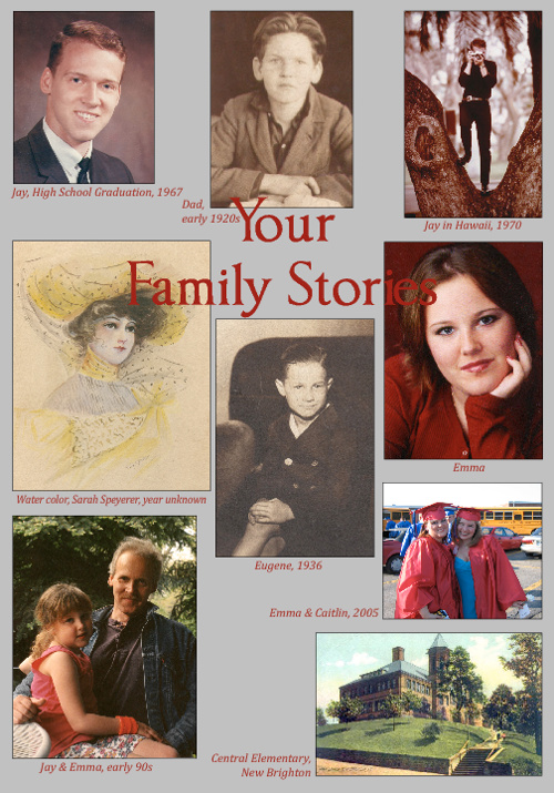 Softcover Family Sample