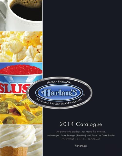 Harlan's 2014 Catalogue