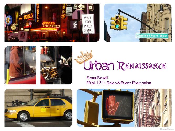 Urban Renaissance