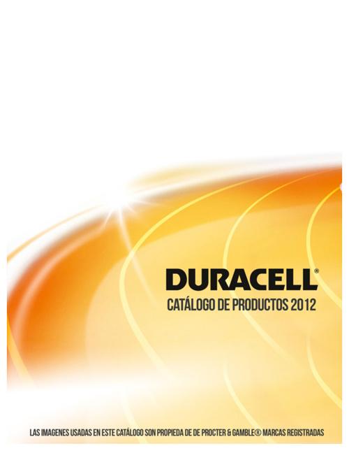 Catálogo Duracel