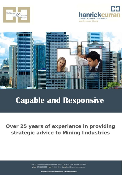 Chinese Audit and Corporate Services Capability Brochure