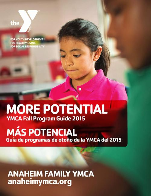 Fall Program Guide 2015 - Anaheim Family YMCA